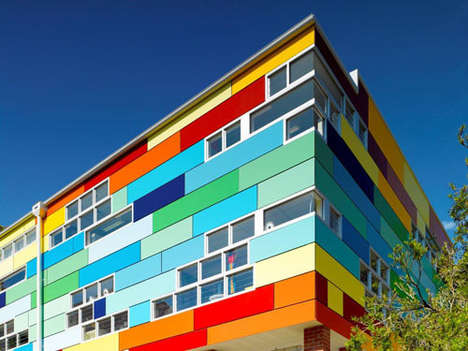 Vibrantly Colored Architecture