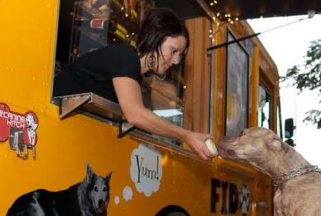 Dog-Focused Food Trucks - Fido To Go by Donna Santucci Caters to Cute Canines