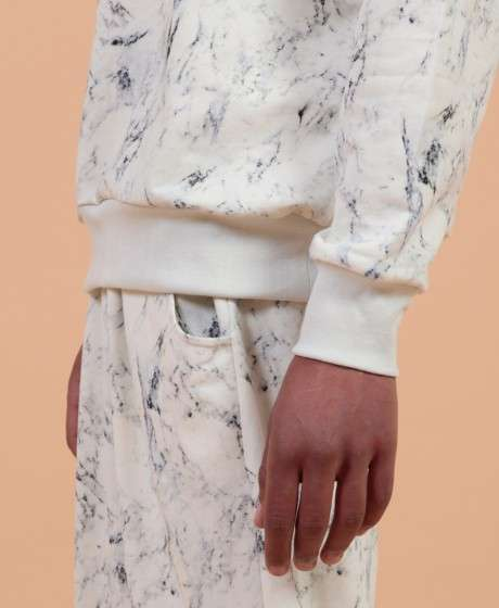 Realistic Marble-Print Garments