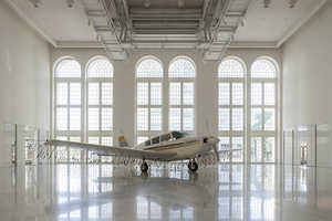 The Avião Installation Combines Old Tech with New