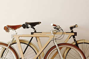 The Wood.b Bike Design is Made from a Steel and Wood Hybrid Material