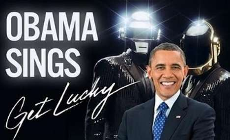 Presidential Summer Anthem Mash-Ups - This Hilarious Video Shows President Obama Singing Daft Punk
