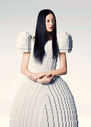 LEGO Wedding Dress