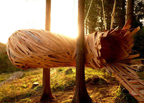 Suspended Nature Hideouts