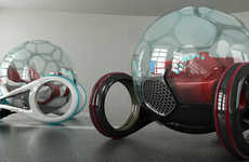 14 Surreal Spherical Automobiles