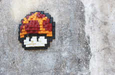 Sebastián Duccoli's Mushroom Art Will Please Gamers