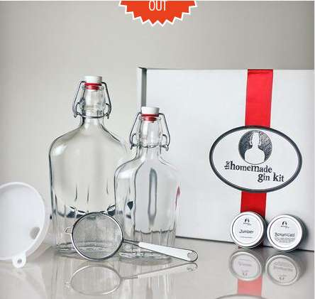 DIY Gin-Making Kits - This Homemade Gin Kit Lets You Make Your Very Own Gin and Tonics