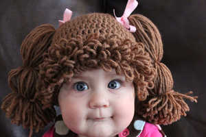 These Cabbage Patch Kid Wigs are Great for Balding Babies