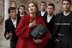 The Dolce and Gabbana Fw 2013 2014 Ads are Full of Drama