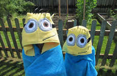 Poolside Villain Costumes - These Despicable Me Costumes are Perfect for Drying Off Tiny Minions