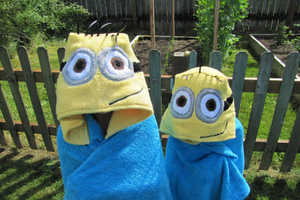 These Despicable Me Costumes are Perfect for Drying Off Tiny Minions
