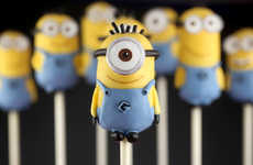Miniature Villiainous Cake Pops - These Minion Cake Pops Celebrate the Launch of Despicable Me 2