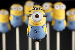 These Minion Cake Pops Celebrate the Launch of Despicable Me 2