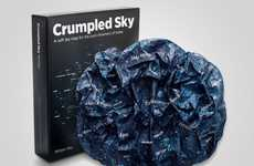 The Crumpled Sky Map Offers a Way to View the Stars