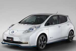 The Nismo Nissan Leaf Puts a Sexy Spin on the Acclaimed EV