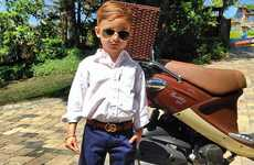 The Stylish Alonso Mateo is and Adorable Instagram Sensation