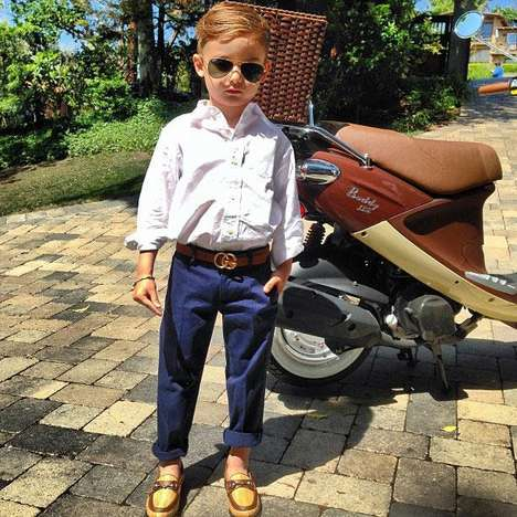 Famously Fashionable Youngsters - The Stylish Alonso Mateo is and Adorable Instagram Sensation