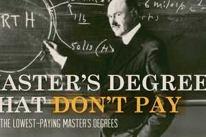This Infographic Reveals the Five Lowest Paying Master's Degrees