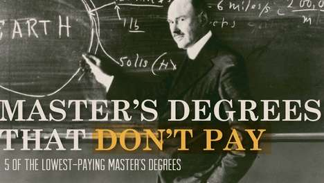 lowest paying master