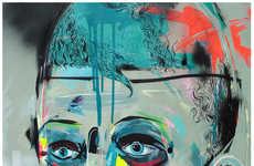 Eerily Smeared Urban Portraits