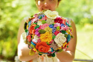 This Whimsical Floral Arrangement is Perfect for Arts and Crafts Lovers