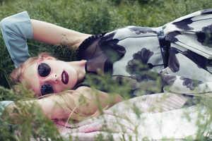 Nastya Zhidkikh Stars in this Quaint Shoot for Foam July August 2013