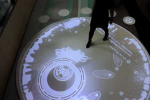 The Living Cell Installation Lets You Explore a Human Cell
