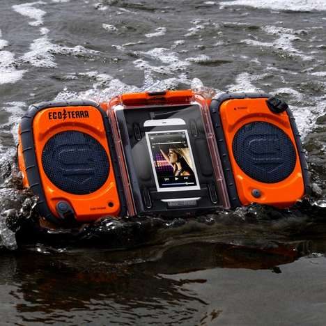 Eco Terra Waterproof Boombox