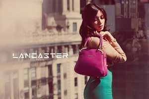 Daisy Lowe Stars in these Sophisticated Lancaster Fall 2013 Ads