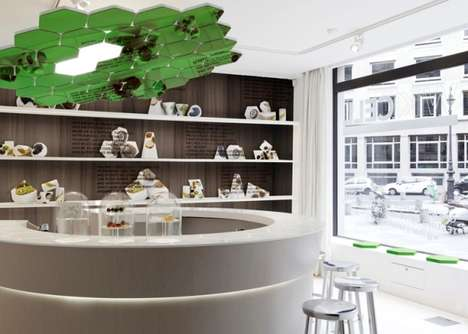 Future-Forward Parisian Eateries - The WikiBar Serves Food Covered in Edible Packaging