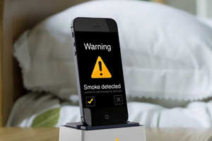 The SensePlus Does Double Duty by Detecting Harmful Gas or Fires