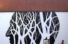 Grungy Minimalist Murals