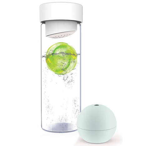 Fruit-Infused Ice Makers - AdNArt's Ice Balls Maker is a Great Addition to Your Summer Drinks