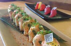 Edible Sashimi Stickers