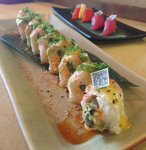 edible qr codes for sushi