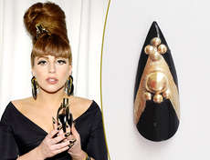 74 Gaga-Approved Nail Designs - Lady Gaga Returns with Her New Album And Of Course, Fabulous Nails