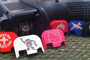 These Glock Slide Cover Plates Give your Gun a Personal Touch