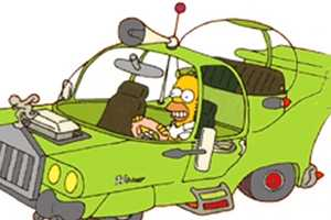 Fans of the Simpsons Will Appreciate the Creation of The Homer Automobile