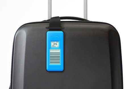 Hi-Tech Luggage Tags - An Initiative for British Airways Uses Electronic Bag Tags to Replace Paper