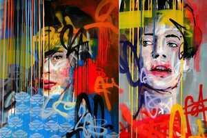 Kilmany-Jo Liversage's Art Series at Worldart Gallery is Classi