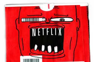 Doodle Flix Transforms Netflix Envelopes into Quirky Cartoons