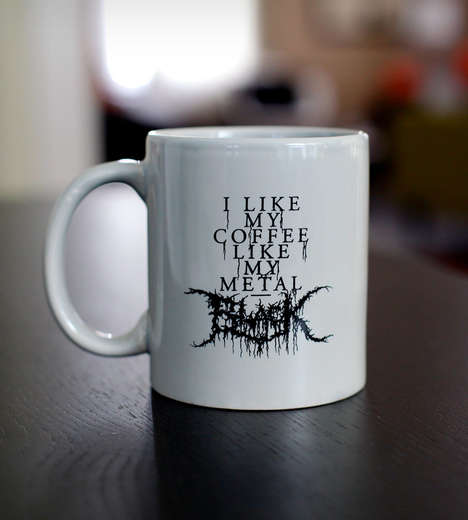 music coffee mug