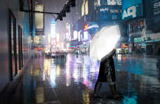 Remarkable Reflective Umbrellas