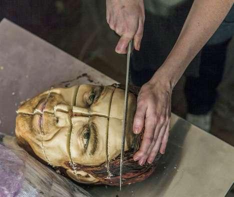 Hyperrealisitc Serial Killer Cakes - This Dexter Morgan Cake Lets Fans Consume Their Favorite Killer