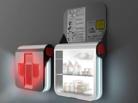 contemporary first aid kit redesigns