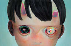 Starry-Eyed Kid Illustrations - These Children's Portraits by Hikari Shimoda Show Hopeful Youth