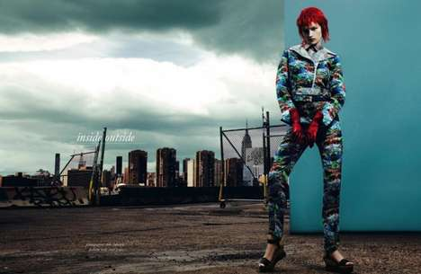 Edgy Clown-Like Fashion - The Schon! Magazine