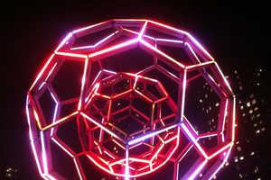 This Luminescent Art Installation was Created by Artist Leo Villareal
