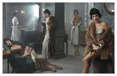 Vintage Boudoir Fashion Ads