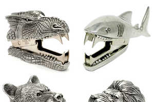 These Sharp-Toothes Critters By Jac Zagoory Chomp Through Staples